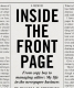 Cover of Inside the Front Page